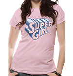 Supergirl - Text & Logo (T-SHIRT Donna )