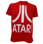 Atari - Red With White Logo (T-SHIRT Unisex )