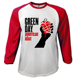 Green Day - American Idiot (T-SHIRT Manica Lunga Unisex )