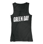 Green Day - Logo (T-SHIRT Donna )