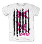 Green Day - Double X Stripes (T-SHIRT Unisex )