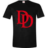 Daredevil - Bloody Symbol Black (T-SHIRT Unisex )