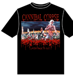 Cannibal Corpse - Eaten Back To Life (T-SHIRT Unisex )