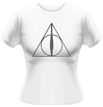Harry Potter - Deathly Hallows Symbol (T-SHIRT Donna )