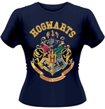 Harry Potter - Crest (T-SHIRT Donna )