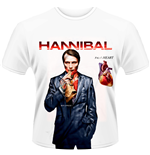 Hannibal - FIG. 1 Heart White (T-SHIRT Unisex )