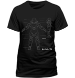 Halo - Anatomy (T-SHIRT Unisex )