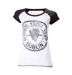 Guinness - Antracite And White Skinnie (T-SHIRT Donna )