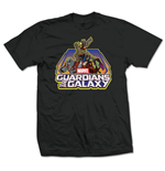 Guardians Of The Galaxy - Group Logo Nero (T-SHIRT Unisex )
