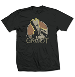 Guardians Of The Galaxy - Groot Nero (T-SHIRT Unisex )