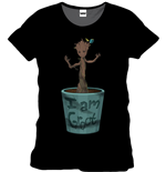 Guardians Of The Galaxy - I Am Groot Black (T-SHIRT Unisex )