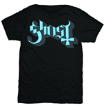 Ghost - BLUE/GREY Keyline Logo (T-SHIRT Unisex )