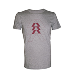Destiny - Grey Melange Vertical Triangle (T-SHIRT Unisex )