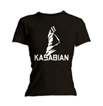 Kasabian - Ultra Black (T-SHIRT Donna )