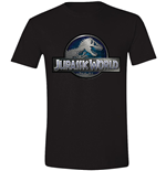Jurassic World - Logo Black (T-SHIRT Unisex )