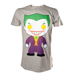 Joker - Basic Character Art Grey (T-SHIRT Unisex )