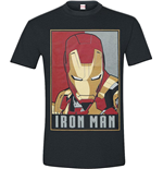 Iron Man - Obey Style (T-SHIRT Unisex )