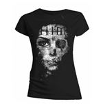 Him - Woman B&W (T-SHIRT Donna )