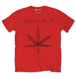 Peter Tosh - Legalize It Red (T-SHIRT Unisex )