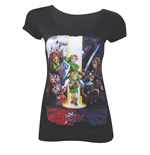 Nintendo - Zelda - Ocarina Of Time Black (T-SHIRT Unisex )