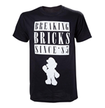 Nintendo - Breaking Bricks Black (T-SHIRT Unisex )