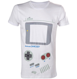 Nintendo - White Gameboy (T-SHIRT Unisex )