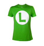 Nintendo - Luigi With Logo Green (T-SHIRT Unisex )