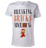Nintendo - Breaking Bricks White (T-SHIRT Unisex )