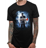 Uncharted 4  - Thief Cover (T-SHIRT Unisex )