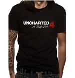 Uncharted 4  - Logo (T-SHIRT Unisex )