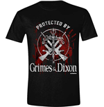 Walking Dead - Grimes / Dixon Protection Logo (T-SHIRT Unisex )