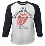 Rolling Stones (THE) - RAGLAN/BASEBALL The Rolling Stones Black White (T-SHIRT Unisex )