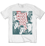Police - Halftone Faces (T-SHIRT Unisex )