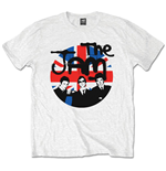 Jam (THE) - Union Jack Circle White (T-SHIRT Unisex )