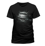 T-shirt Superman Man Of Steel - Erroded