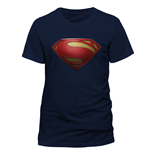 Superman Man Of Steel - Textured Logo (T-SHIRT Unisex )