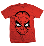 Marvel Comics - Spider Man Big Head Rosso (T-SHIRT Unisex )