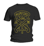 Mumford & Sons - Pistol Label (T-SHIRT Unisex )