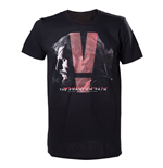 T-shirt Metal Gear Solid - Black Phantom Pain