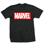 Marvel Comics - Marvel Box Logo Nero (T-SHIRT Unisex )