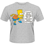 Simpsons - DIDN'T Do It (T-SHIRT Unisex )