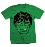 Marvel Comics - Hulk Big Head Verde (T-SHIRT Unisex )