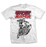 Marvel Comics - Ghost Rider Bianco (T-SHIRT Unisex )