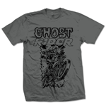 Marvel Comics - Ghost Rider Simple Grigio (T-SHIRT Unisex )