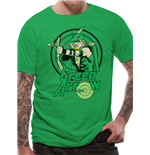 Green Arrow - All The Heroes Circle (T-SHIRT Unisex )