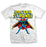 Marvel Comics - Doctor Strange Bianco (T-SHIRT Unisex )