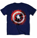 Marvel Comics - Captain America Splat Shield (T-SHIRT Unisex )