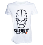 Call Of Duty - Black Ops 3 - Skull Logo White (unisex )