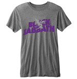 Black Sabbath - BURN-OUT Logo Grey (unisex )