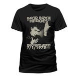 David Bowie - Heroes Earls Court (unisex )
